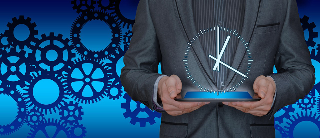 better management of time by business process automation